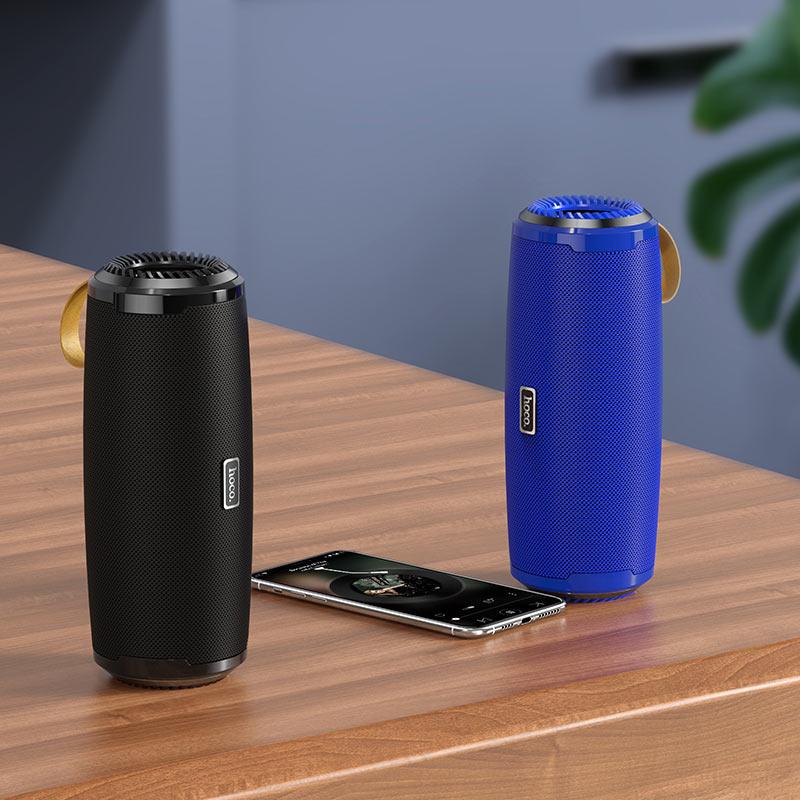 hoco bs38 cool freedom sports wireless speaker interior black blue 10