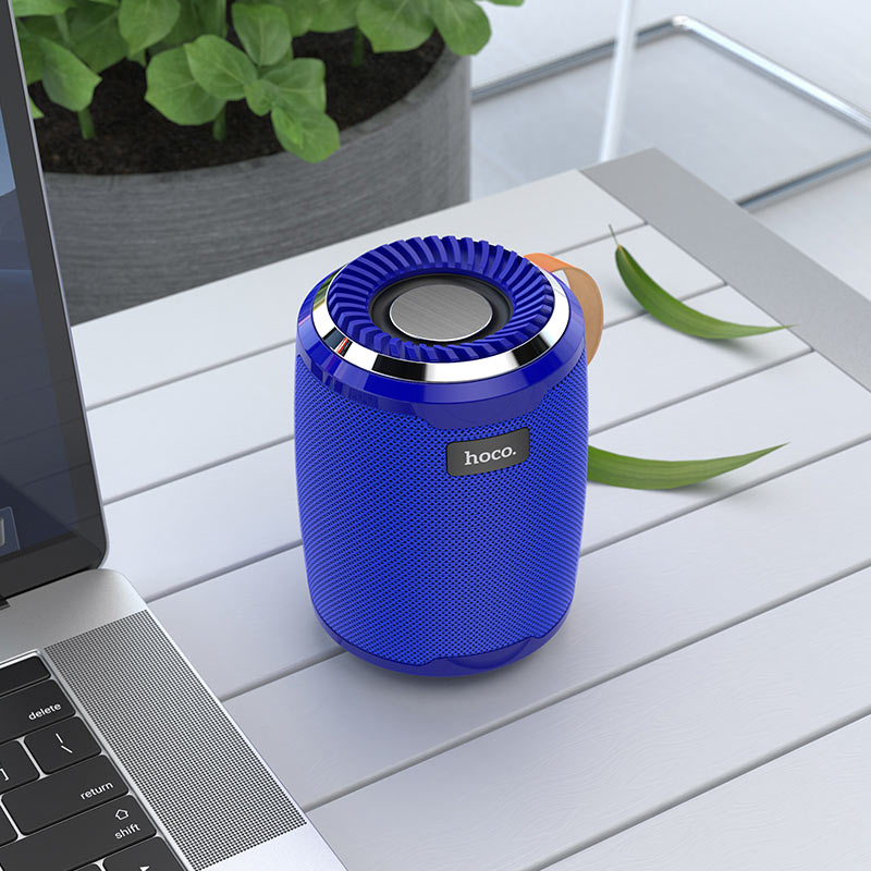 hoco bs39 cool freedom sports wireless speaker interior blue