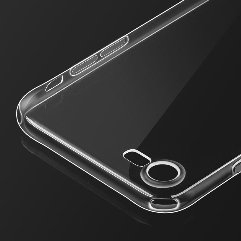 hoco crystal clear series tpu protective case for iphone se 8 7 precise