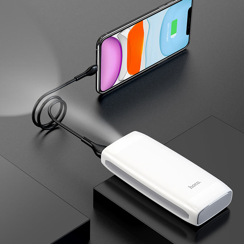 hoco j64 tough power bank 10000mah charging