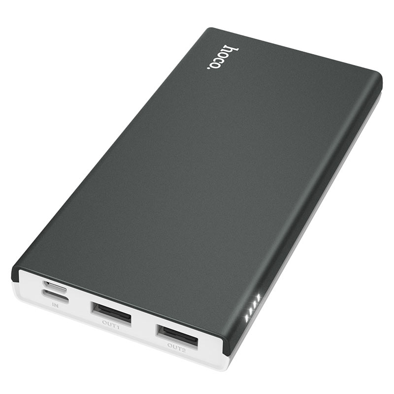 hoco j66 fountain power bank 10000mah indicator