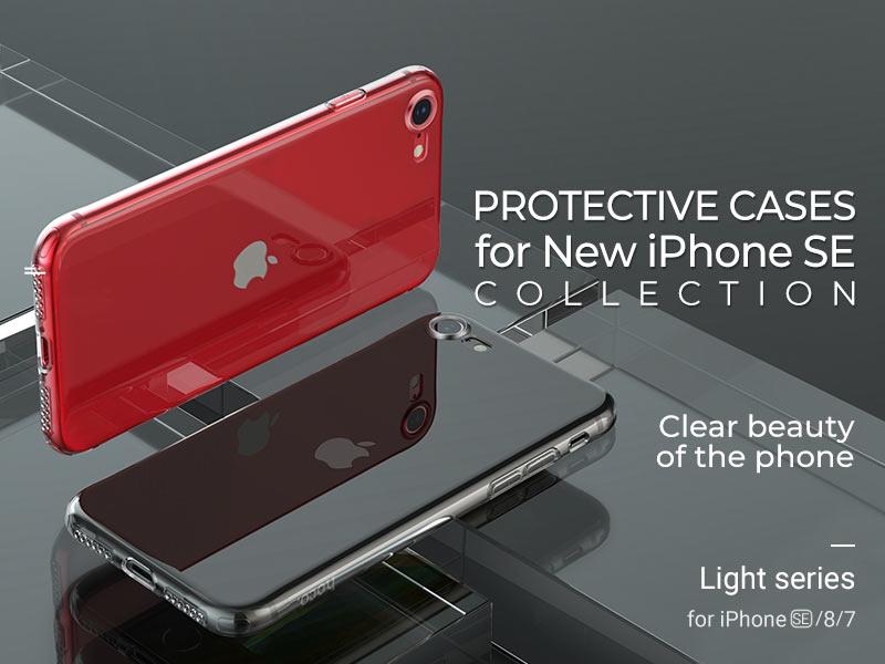 hoco news new iphone se protective cases banner en