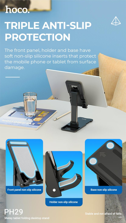 hoco news ph29 matey tablet folding desktop stand anti slip en