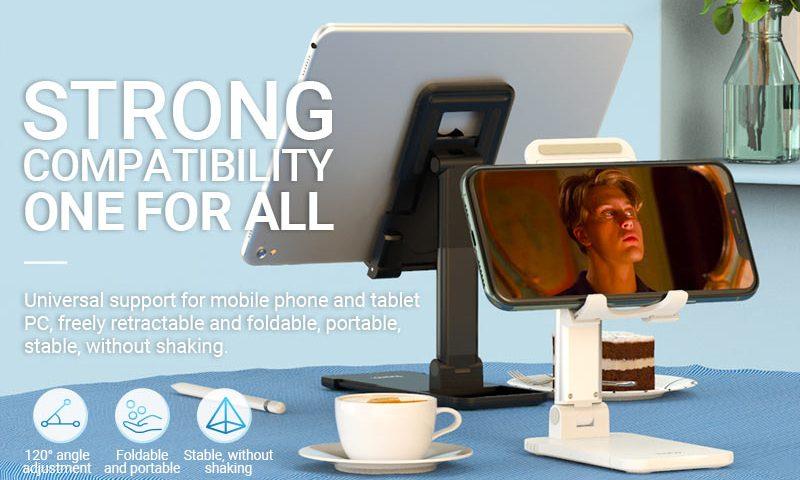 hoco news ph29 matey tablet folding desktop stand banner en