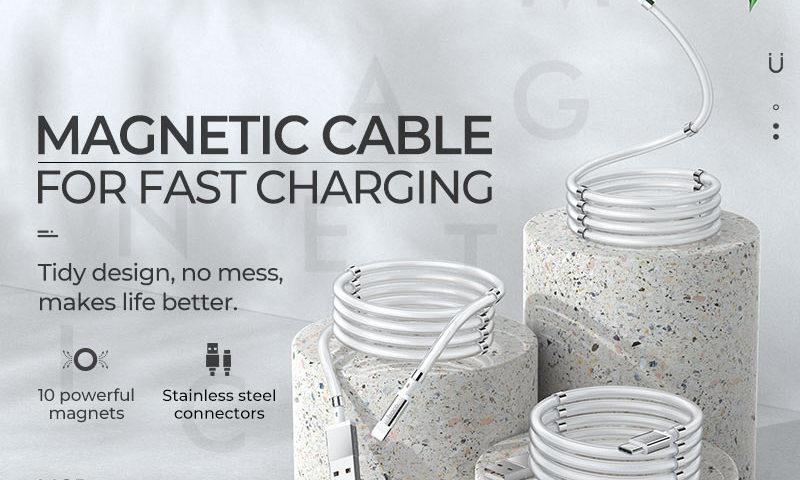 hoco news u91 magic magnetic charging cable banners en
