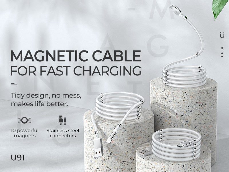 hoco news u91 magic magnetic charging cable banners en