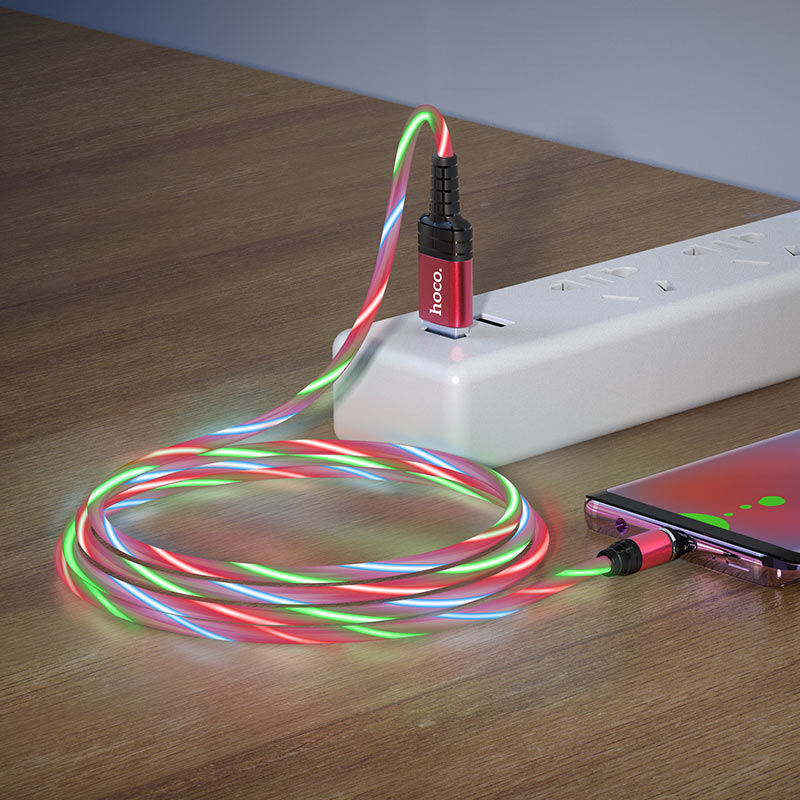 hoco u90 ingenious streamer кабель для зарядки для micro usb зарядка