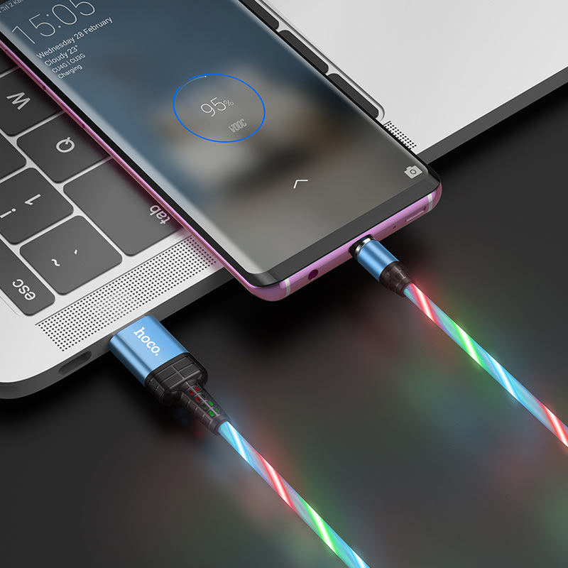 hoco u90 ingenious streamer кабель для зарядки для micro usb интерьер