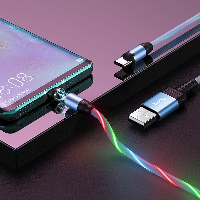 hoco u90 ingenious streamer кабель для зарядки для type c интерьер