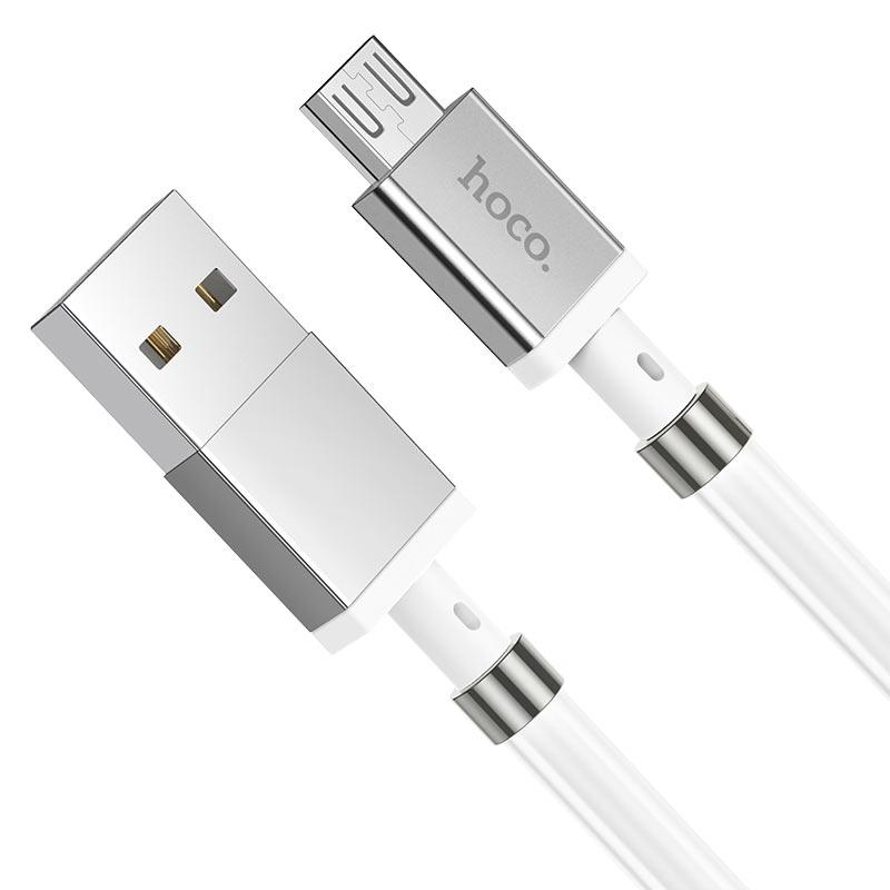 浩酷 u91 妙控磁吸收纳充电数据线 micro usb 接头