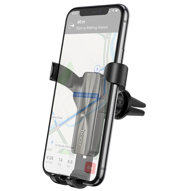hoco ca71 dignity air outlet gravity in car holder phone