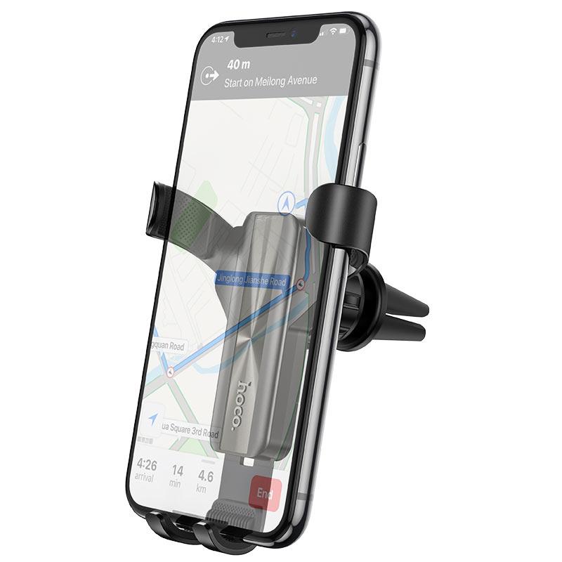 hoco-ca71-dignity-автомобильный-держатель-телефон