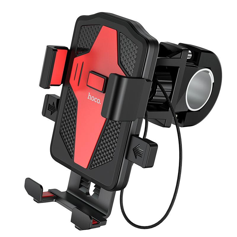 hoco-ca73-flying-универсальный-держатель-телефона-для-велосипеда-мотоцикла-зажим