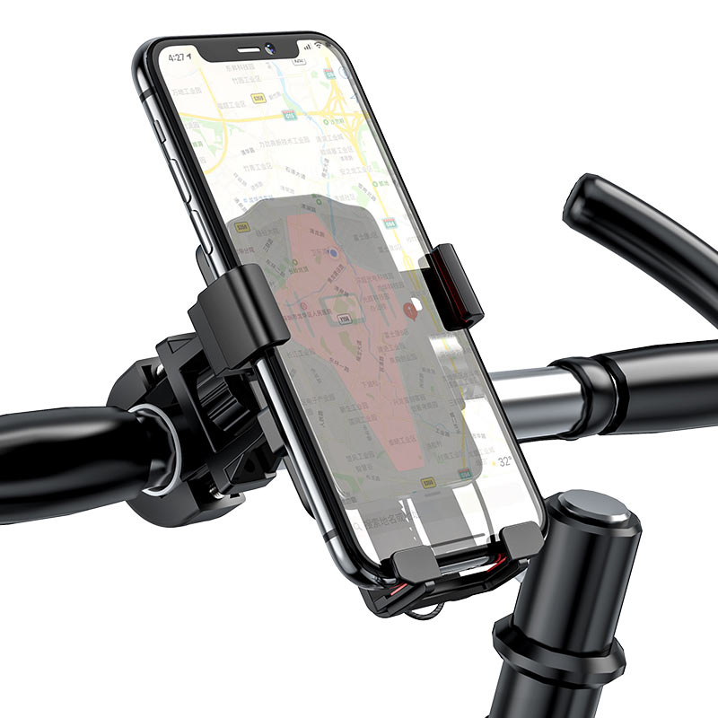 hoco ca73 flying one touch bicycle motorcycle universal holder handlebar
