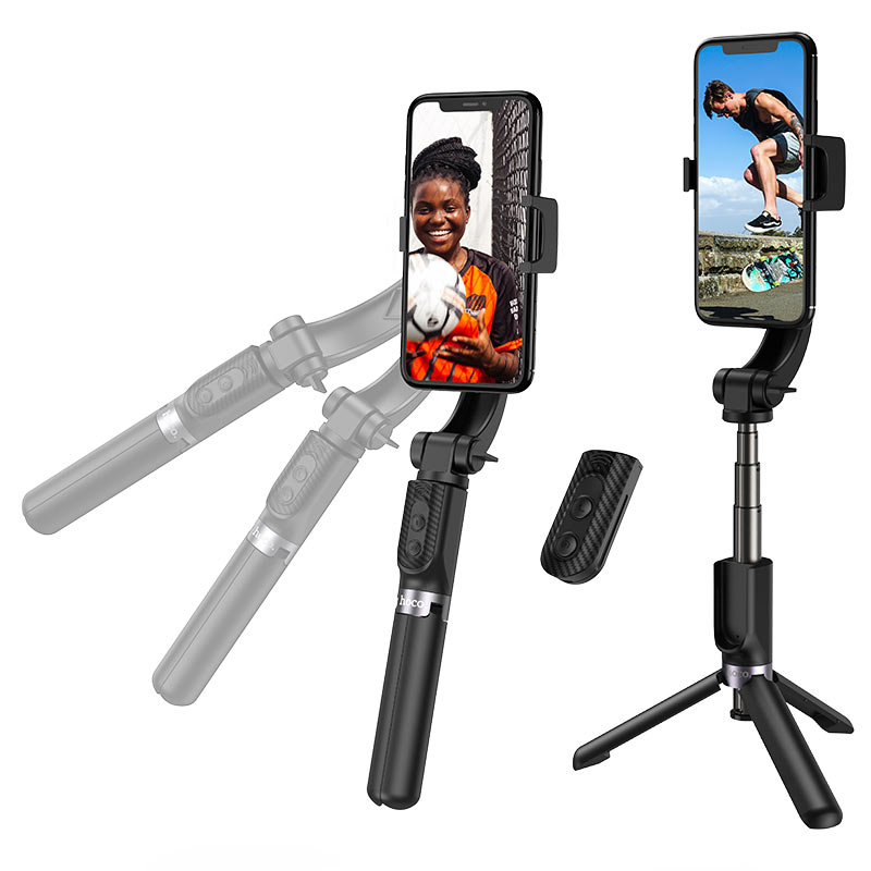 hoco k14 element intelligent anti shake handheld stand tripod