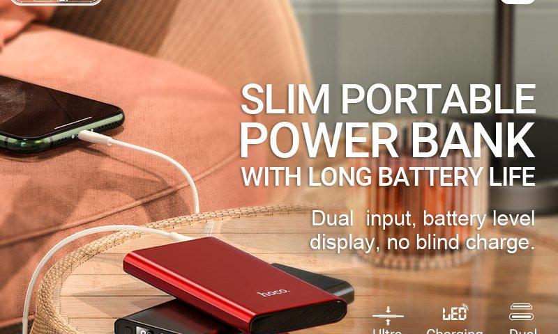 hoco news j68 resourceful digital display power bank 10000mah banner en