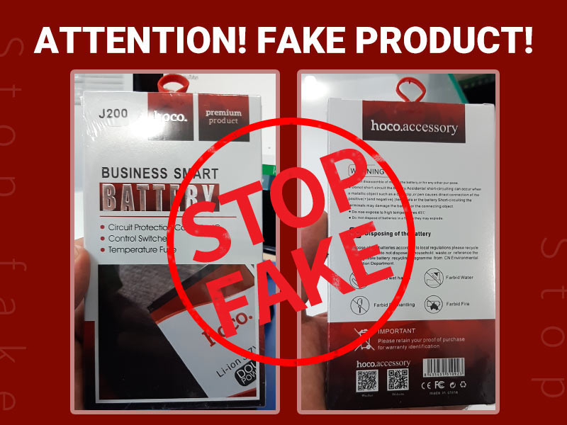 news attention fake product banner en