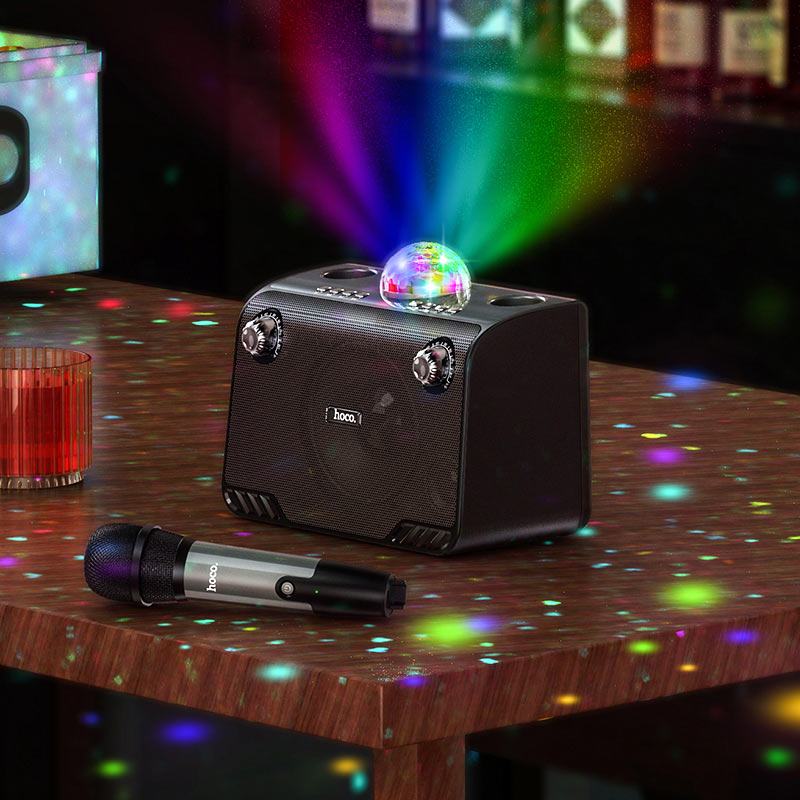 hoco bs41 warm sound k song wireless speaker lights