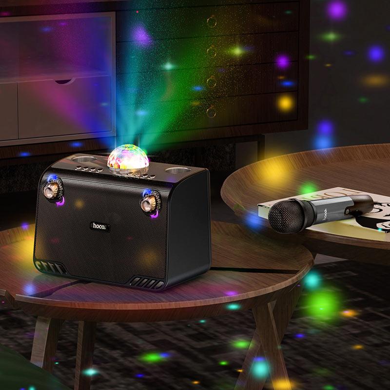hoco bs41 warm sound k song wireless speaker overview