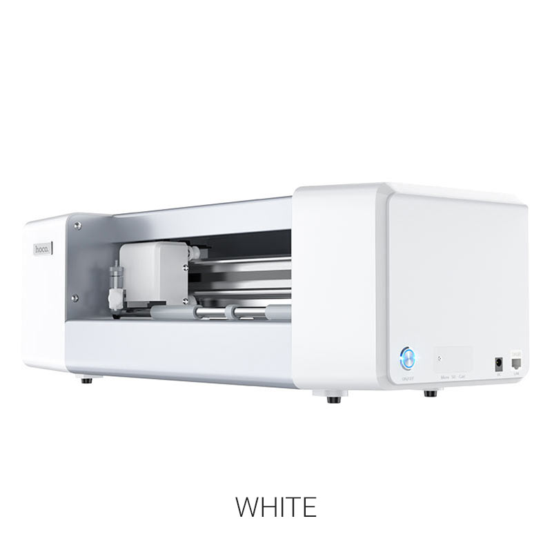 intelligent film cutting machine white