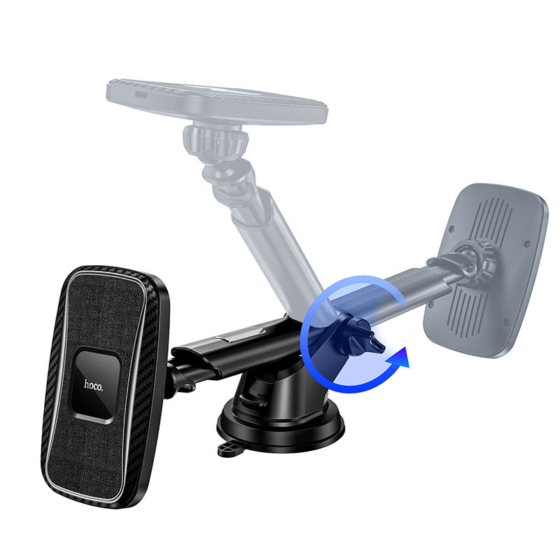 hoco ca75 magnetic wireless charging car holder angle