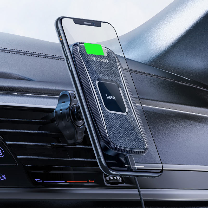 hoco ca75 magnetic wireless charging car holder overview