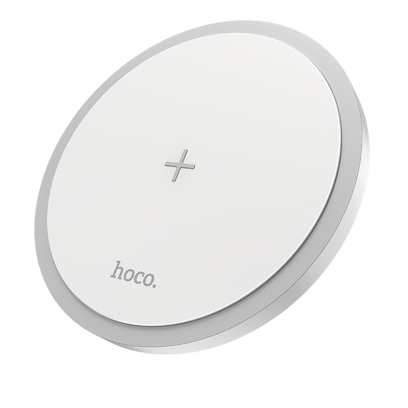 hoco cw26 powerful 15w wireless fast charger front