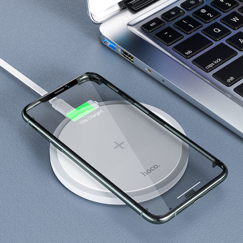 hoco cw26 powerful 15w wireless fast charger interior