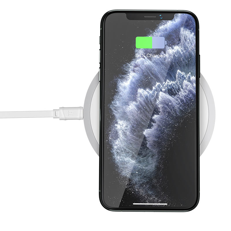 hoco cw26 powerful 15w wireless fast charger phone