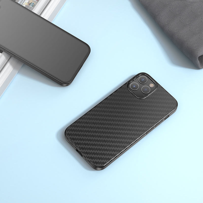 hoco delicate shadow series protective case for iphone12 pro max overview