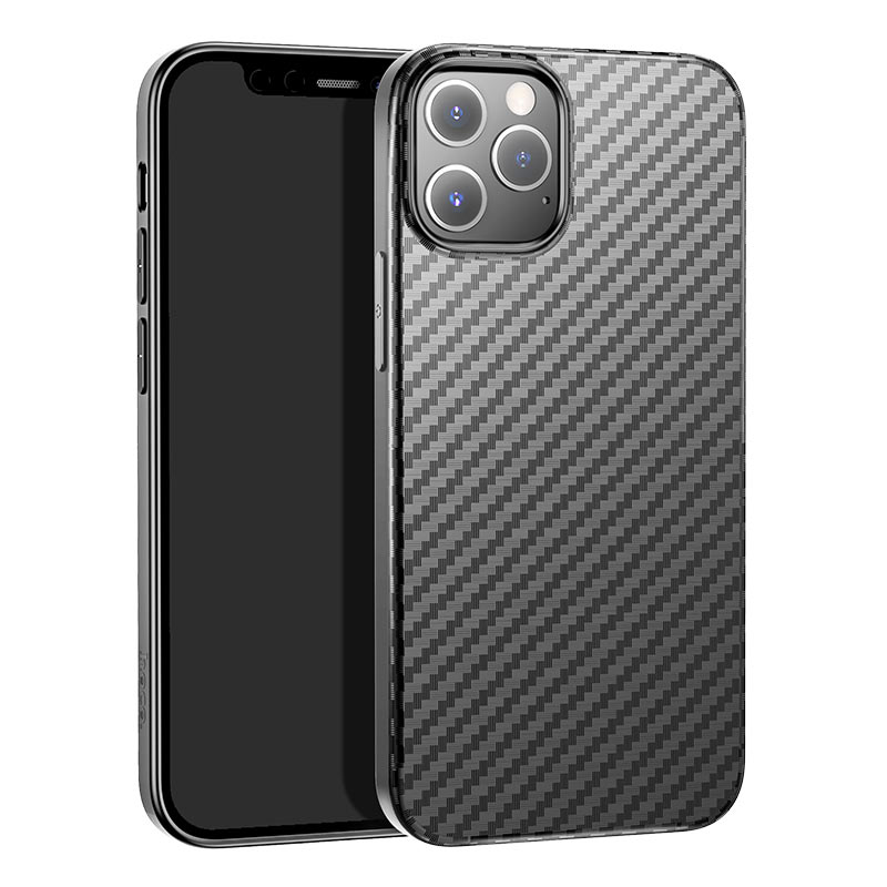 hoco delicate shadow series protective case for iphone12 pro max