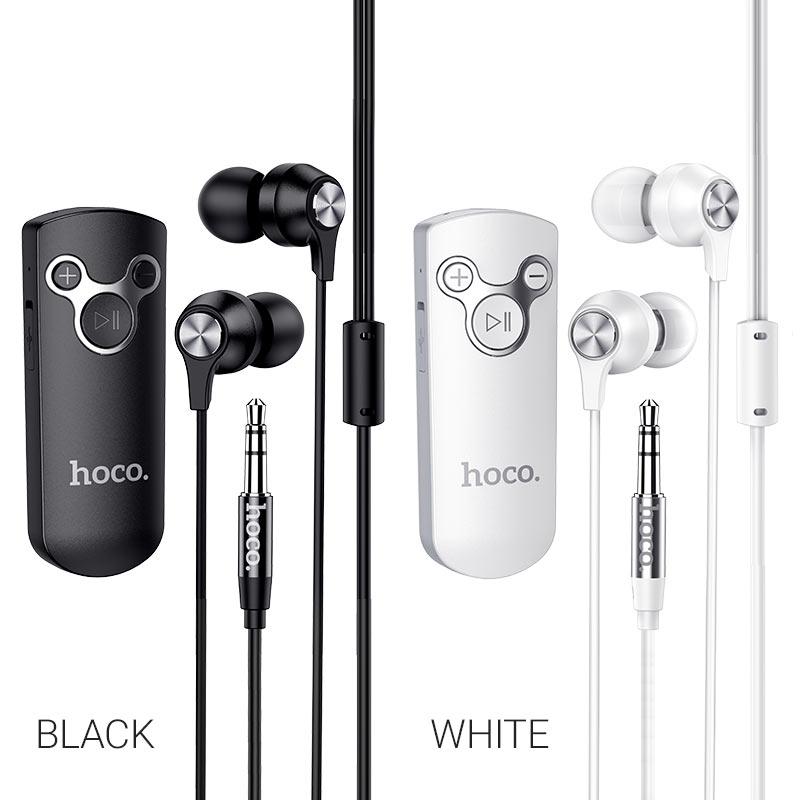 hoco e52 euphony wireless audio receiver earphone colors