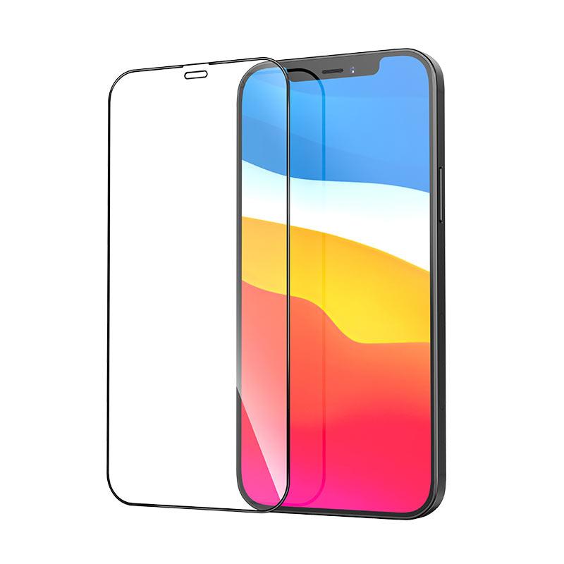 浩酷-秒贴全屏丝印高清钢化膜-g1-iphone12-mini-pro-max