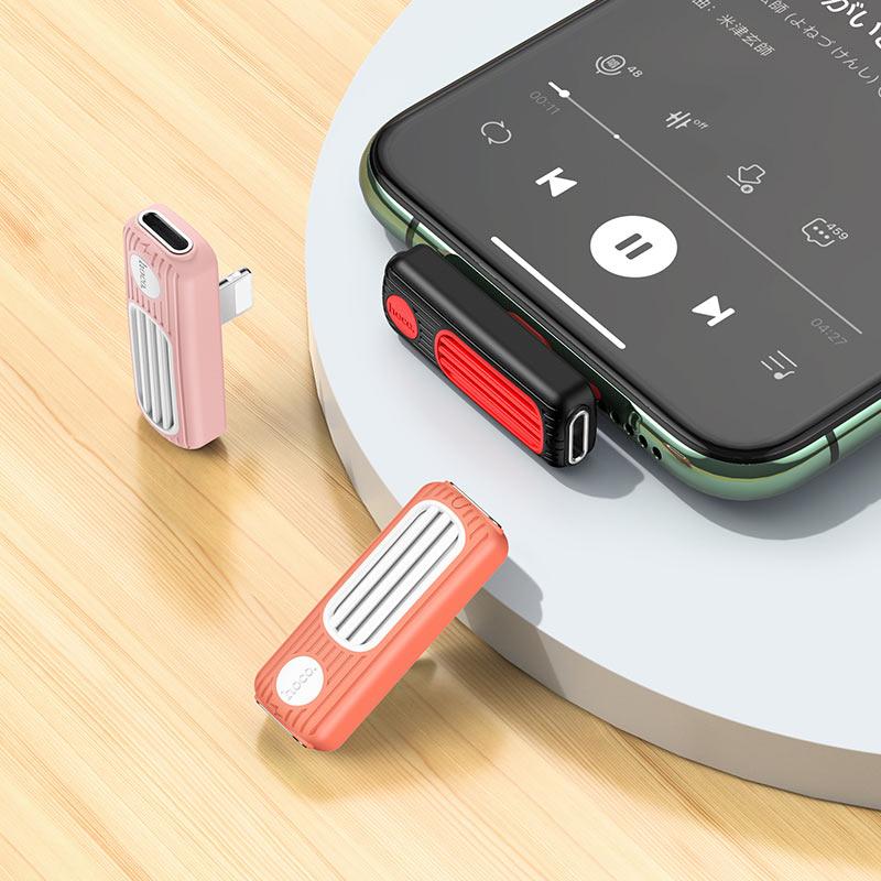 hoco ls29 dual lightning digital audio converter overview