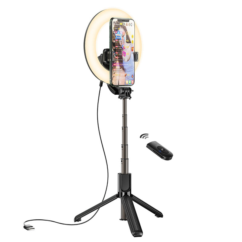 hoco lv03 showfull fill light live broadcast holder stream