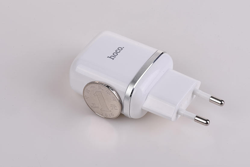 hoco n3 special single port qc3.0 wall charger eu disassembly report coin