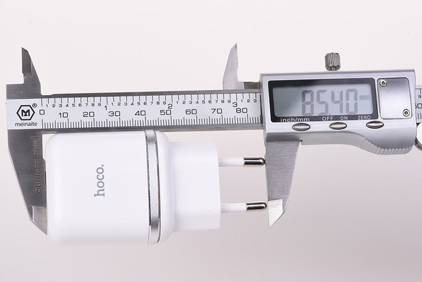 hoco n3 special single port qc3.0 wall charger eu disassembly report length