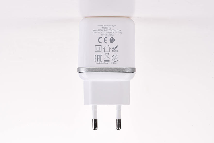 hoco n3 special single port qc3.0 wall charger eu disassembly report parameters