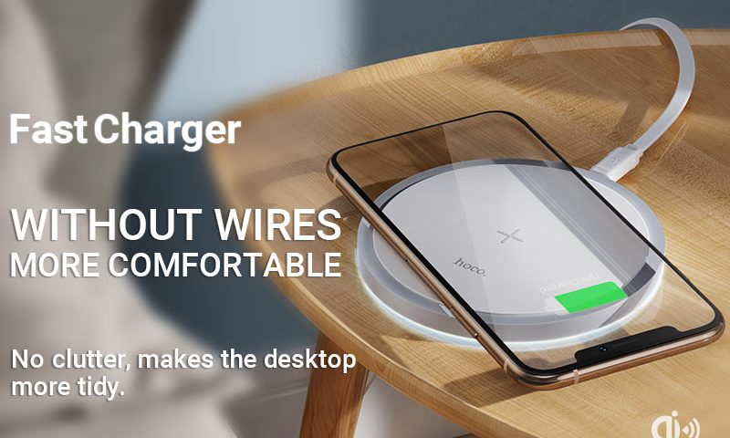 hoco news cw26 powerful 15w wireless fast charger banner en