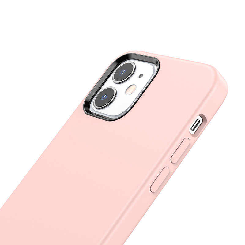 hoco pure series protective case for iphone12 mini buttons