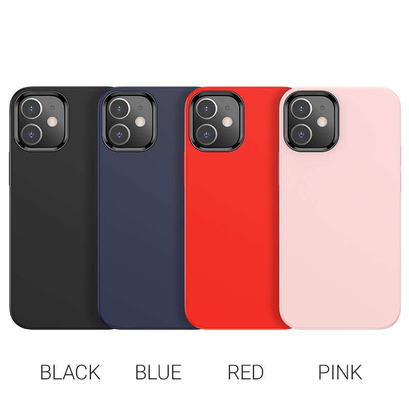 hoco pure series protective case for iphone12 mini colors