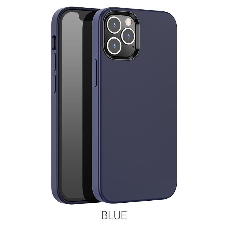 pure series ip12 pro max синий