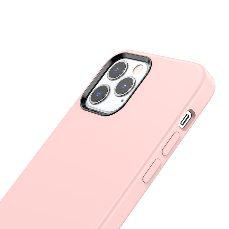 hoco pure series protective case for iphone12 pro max buttons