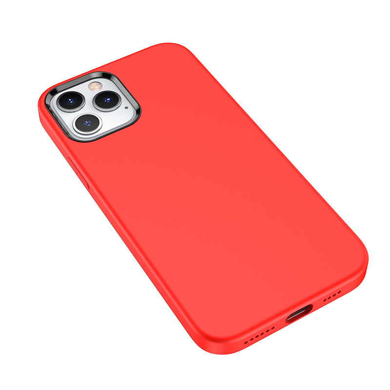 hoco pure series protective case for iphone12 pro max camera