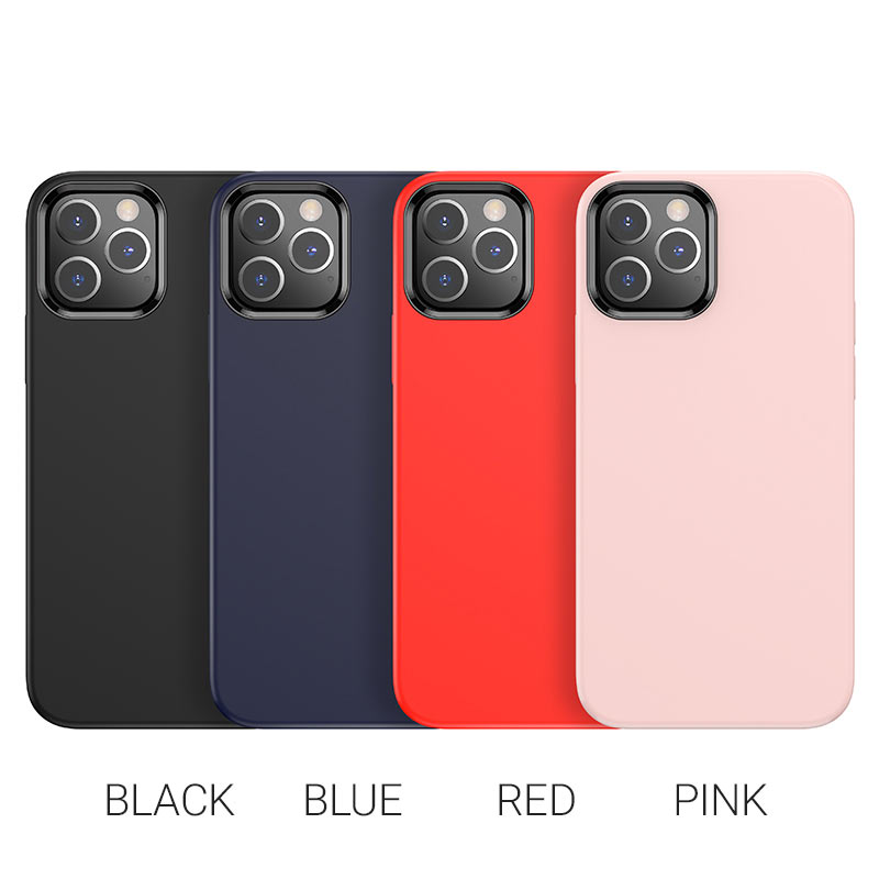 hoco pure series protective case for iphone12 pro max colors