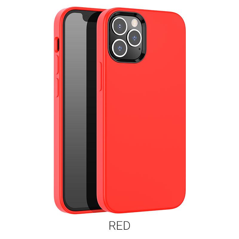 pure series ip12 pro max красный