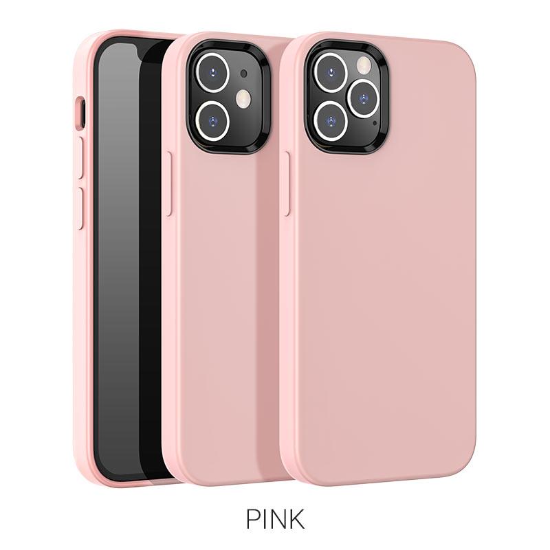 pure series ip12 pro розовый