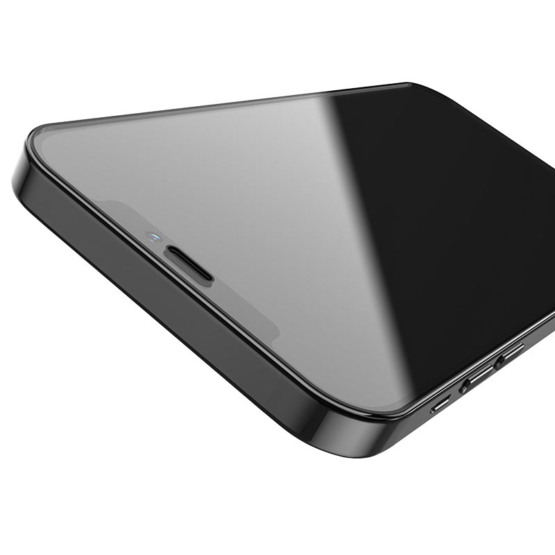 hoco shatterproof ultra fine edge full screen hd tempered film a19 for iphone12 mini pro max borders