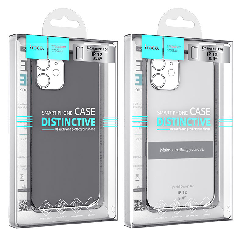 hoco thin series pp protective case for iphone12 mini packages