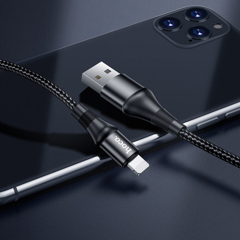 hoco x50 excellent charging data cable for lightning charger